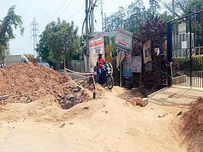 BWSSB delay throws Babusapalya off track