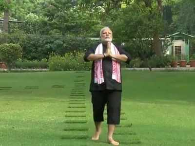 PM Modi on Yoga Day: Pranayama makes respiratory system strong, helps in fighting COVID-19