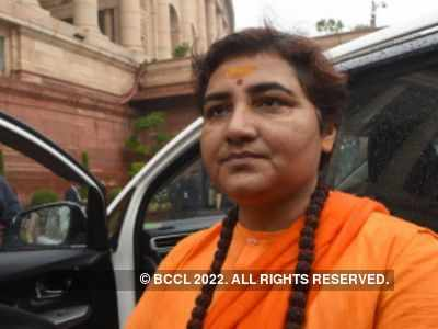 BJP leader Pragya Thakur airlifted from Bhopal to Mumbai, taken to hospital