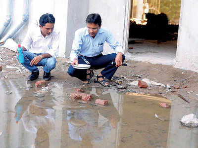 Mosquito breeding: Hotel, temple, others get AMC notices