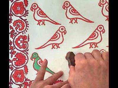 PLAN AHEAD: An introduction to block printing