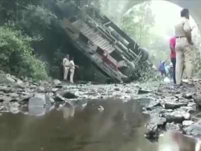 Maharashtra: 5 dead, 35 injured after bus falls into gorge in Nandurbar
