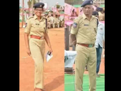 TRS public meeting: Proud moment for DCP dad to salute his SP daughter