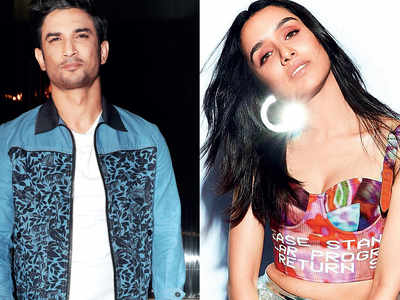 Sushant Singh Rajput and Shraddha Kapoor shoot for a song for Chhichhore
