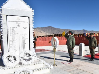 Army observes 54th anniversary of battle of Rezang La in Ladakh