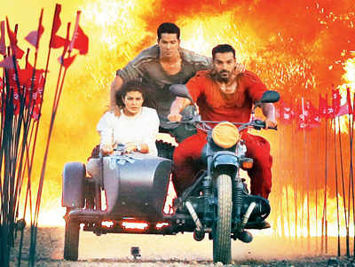 Sajid's Dishoom gets a wide release