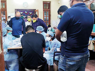 Five more members of Sangli family test positive