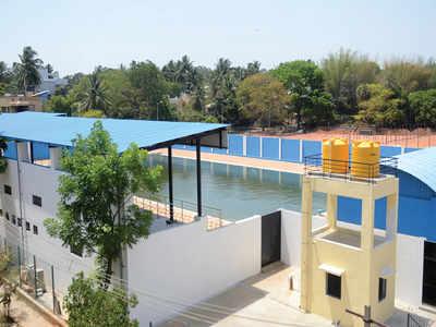 Vidyaranyapura is ready to make a splash but…