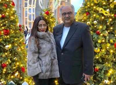 Sridevi's birth anniversary: Bollywood Art Project honours Sridevi with 18-ft tall mural, Boney Kapoor gets emotional
