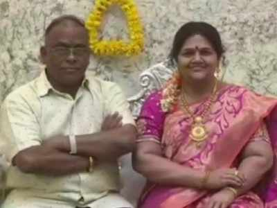Karnataka industrialist celebrates house warming with silicon wax statue of wife who died in a car accident
