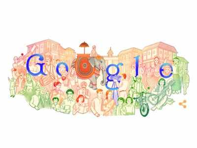 Republic Day: Google highlights India's colourful and rich heritage in doodle by Mumbai-based artist