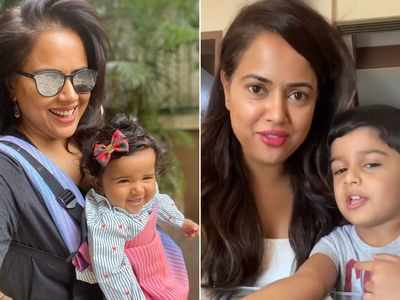 Sameera Reddy on her son, tackling children and their mental health during lockdown