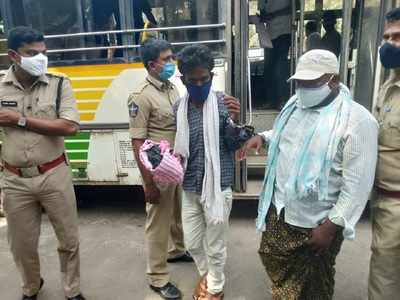 Dalit farmers handcuffed in Amaravati, six policemen suspended
