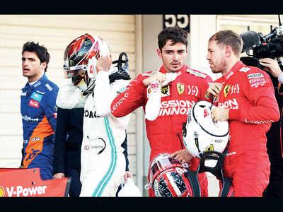 Ferrari aims for pole position while avoiding team battle in Mexico Grand Prix