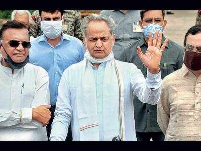 Gehlot stands by demand for Raj assembly session