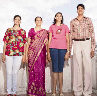 Indias Tallest Family Set For World Record