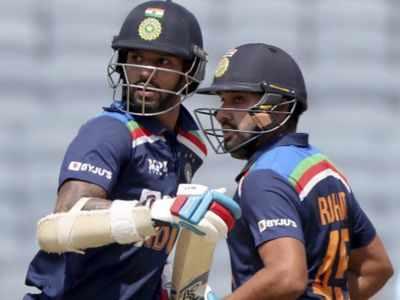 India vs England: Rohit, Shikhar complete 5000 partnership runs in ODI cricket