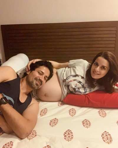 Sumeet Vyas, Ekta Kaul share first picture of their newborn baby Ved Vyas