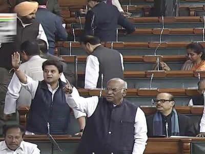 Congress disrupts Lok Sabha proceedings over PM Narendra Modi's remarks against Manmohan Singh