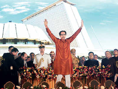 Uddhav Thackeray chucks remote to take oath as Maharashtra's 19th CM