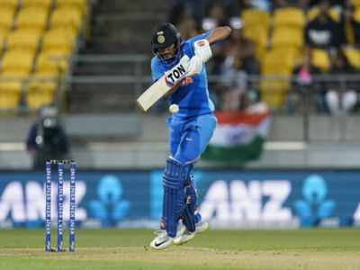 India Vs New Zealand 4th T20I: Manish Pandey takes India to 165/8 against Kiwis