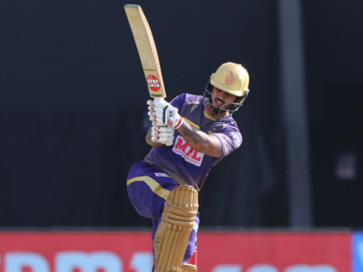 KKR vs DC: Nitish Rana dedicates half-century to his late father-in-law