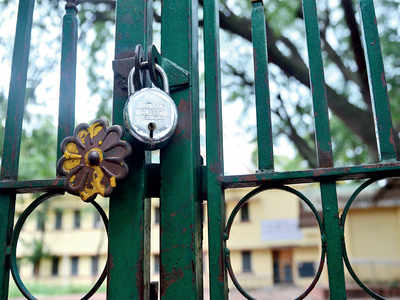 Keep them locked until the key is found, say parents