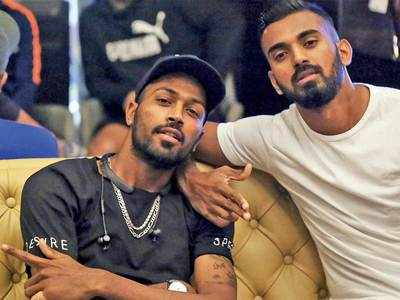 Pandya, Rahul fined Rs 20 lakh each