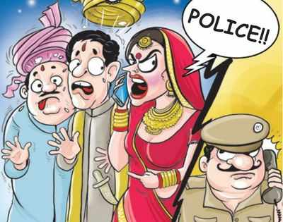 Ditched on wedding day by groom, bride seeks cops' help