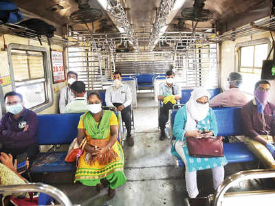 Ladies first: Women can now travel by local trains during non-peak hours