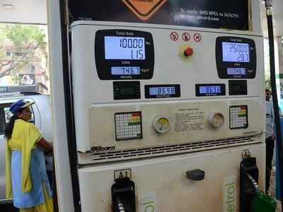 Fuel price hike: Petrol sold at Rs 88.67 per litre, diesel at Rs 77.82 per litre in Mumbai