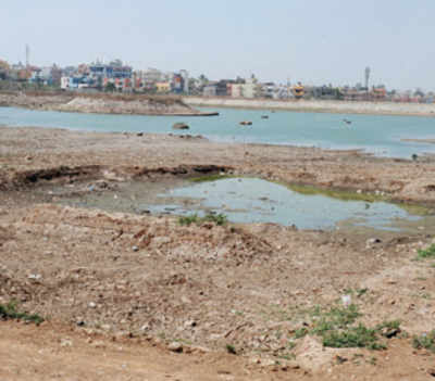 Dry lakes mean borewells will pump air, not water