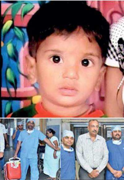 Surat boy's heart gives new lease of life to Mumbai girl