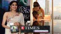 Janhvi Kapoor gets trolled for holding book upside down at launch event; Sunny Leone's pic of helping daughter with homework while on vacation goes viral, and more…