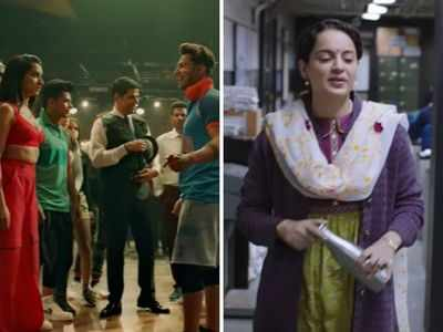 Street Dancer 3D vs Panga Box Office Collection: Kangana Ranaut's film starts slow on Day 1