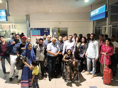 120 people stranded in Dubai for 24 hours