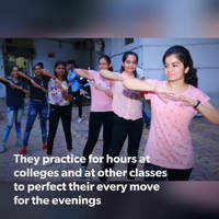 College students gear up for Garba and Dandiya