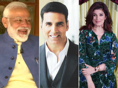 When Akshay got 'sandwiched' between PM Modi and wife Twinkle