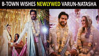 Varun-Natasha tie the knot, celebs wish the newlywed