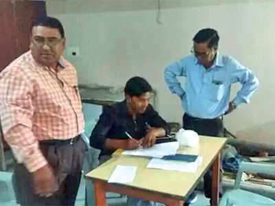 Board officials raid exam centre in Dahod, seized copies of exam papers