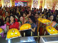 Mumbai: Transgender women celebrate Durgotsav in Powai
