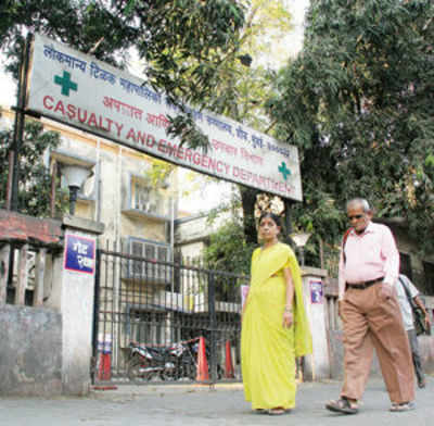 Sion hospital's clean-up act nets Rs. 4L in fines