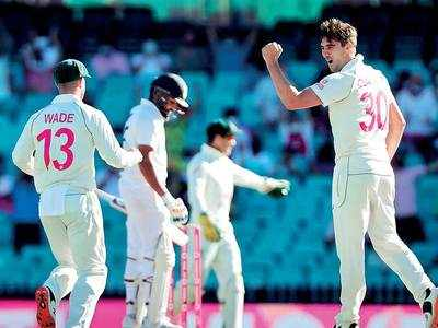 Uphill task for India to save Test