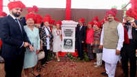 Memorial unveiled to commemorate Polish refugees who took shelter in Kolhapur during World War II