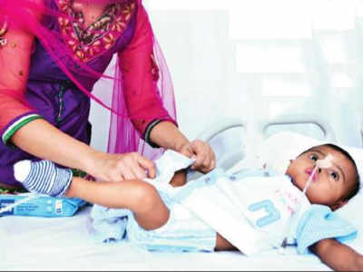 Little Miracle: Kandivali couple's premature baby wins 11-month battle for survival, is discharged from hospital