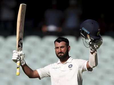 India vs Australia, Adelaide Test, Day 1: Cheteshwar Pujara rescues India with fighting century