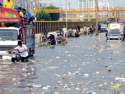 Five killed in Karachi rains