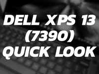 Dell XPS 13 (7390) quick look