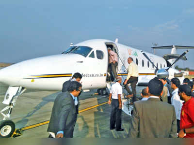 Air Deccan gets back wings with Mumbai-Jalgaon flight