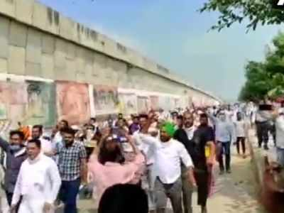 Farmers block NH 44 near Kurukshetra, protest against agriculture ordinances passed by Union Cabinet
